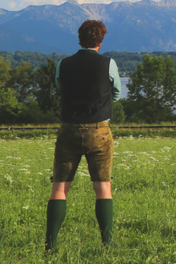 Lederhosen im used-look