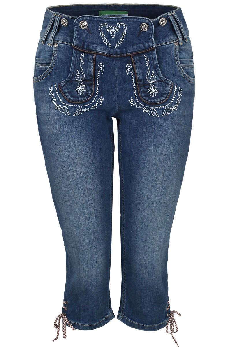 Damen Jeans Lederhosenoptik 3 4 - Damen - Trachten Werner-Leichtl OHG 41b84a5215
