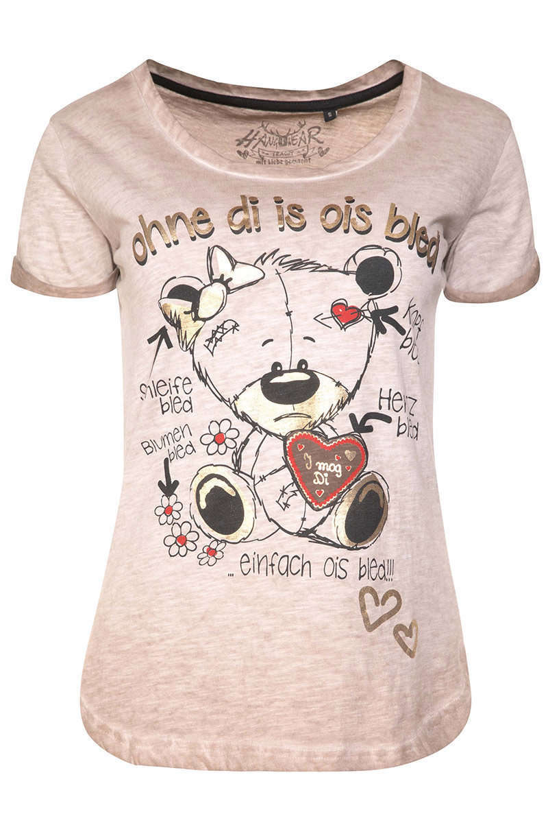Damen T-Shirt ohne Di is ois bled