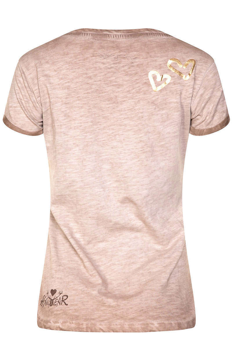 Damen T-Shirt ohne Di is ois bled Bild 3