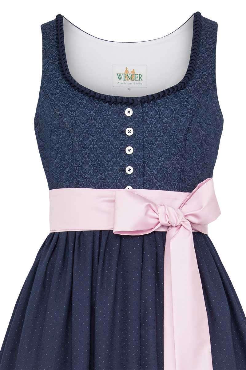 trachten-umstandskleid dunkelblau - trachtenkleider röcke
