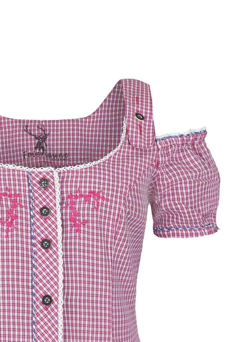 Country-Line Damen Damen Jeans Lederhosenoptik 3  4, Blau, 34 10100 e67e0ac6bd