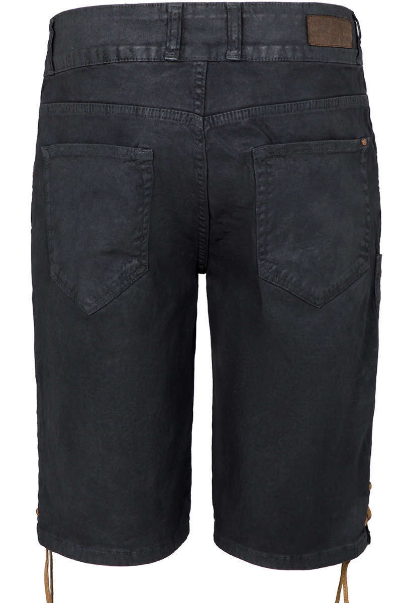 herren jeans lederhose schwarz trachten lederhosen herren trachten werner leichtl ohg. Black Bedroom Furniture Sets. Home Design Ideas
