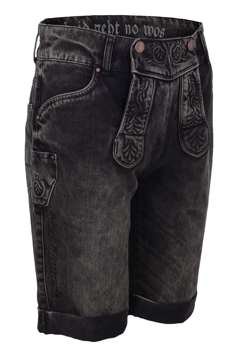 jeans 39 lederhose 39 braun grau geschenke trachten werner leichtl ohg. Black Bedroom Furniture Sets. Home Design Ideas