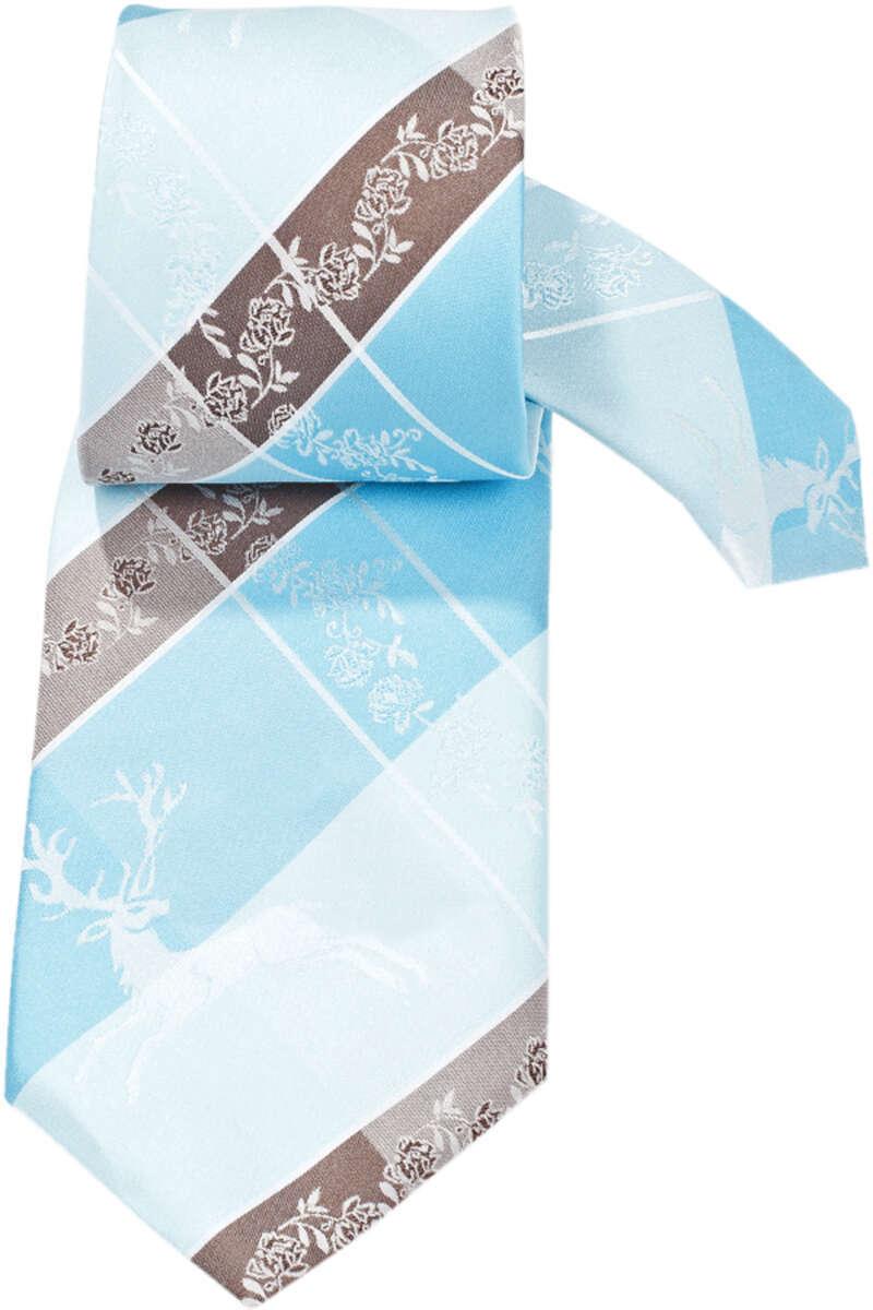 trachten krawatte hirsch t rkis braun krawatten accessoires herren trachten werner leichtl ohg. Black Bedroom Furniture Sets. Home Design Ideas