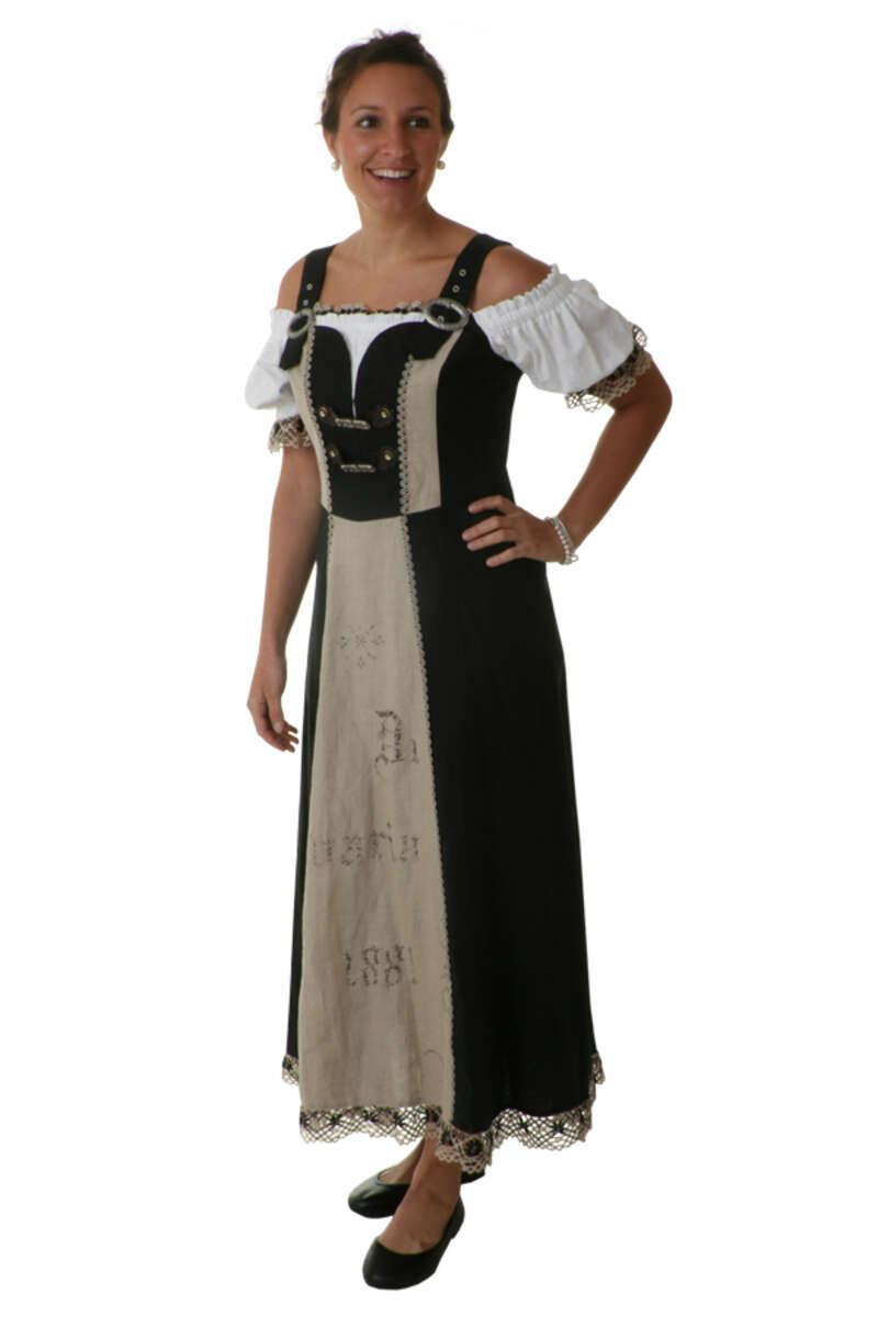 Landhauskleid Baumwolle Heidi - Landhausmode Damen ...