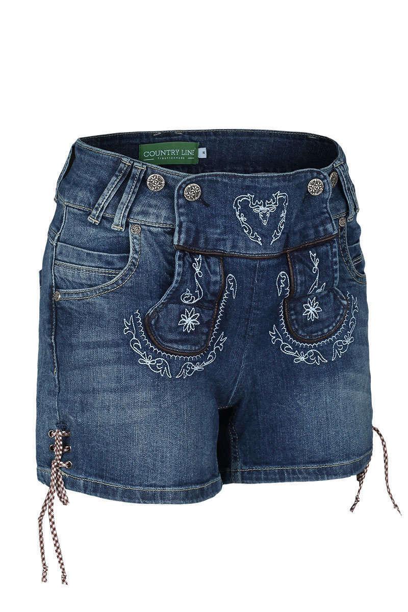 damen trachten jeansshorts damen trachten werner leichtl ohg. Black Bedroom Furniture Sets. Home Design Ideas