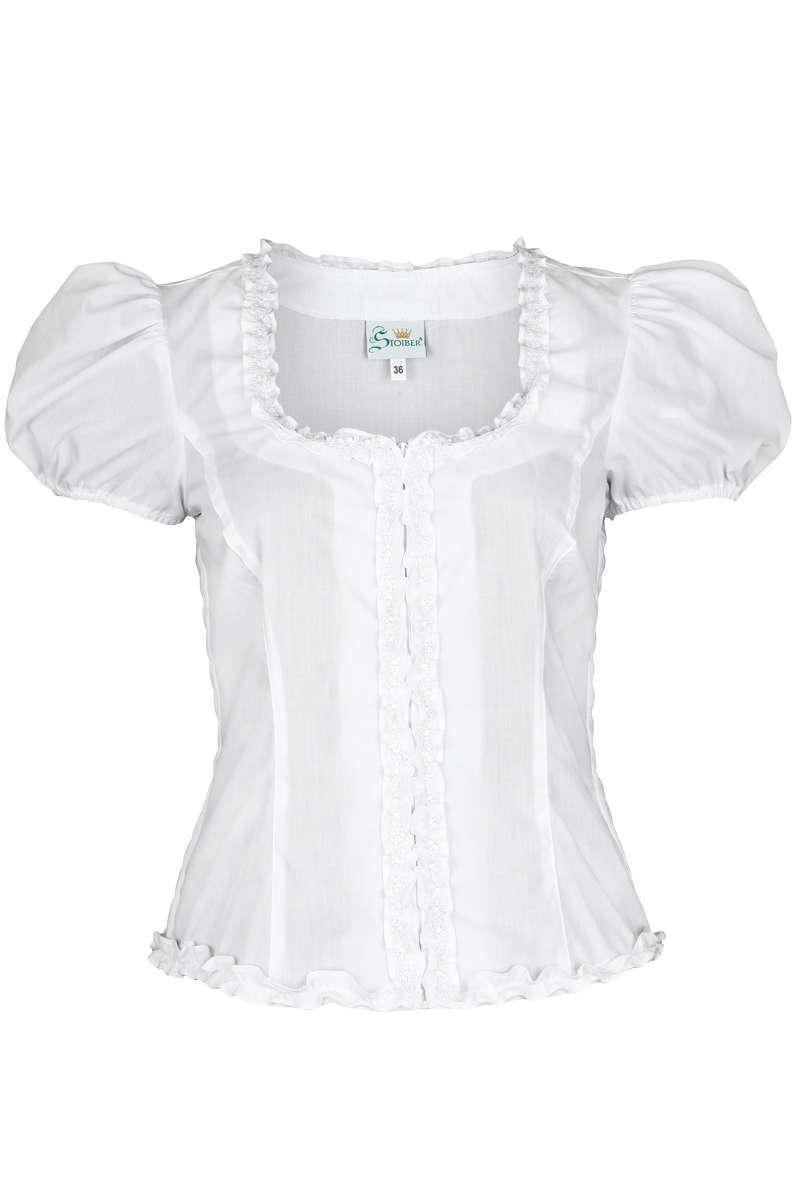 trachten mieder bluse mit puff rmel wei wei e blusen trachtenblusen trachtenshirts damen. Black Bedroom Furniture Sets. Home Design Ideas