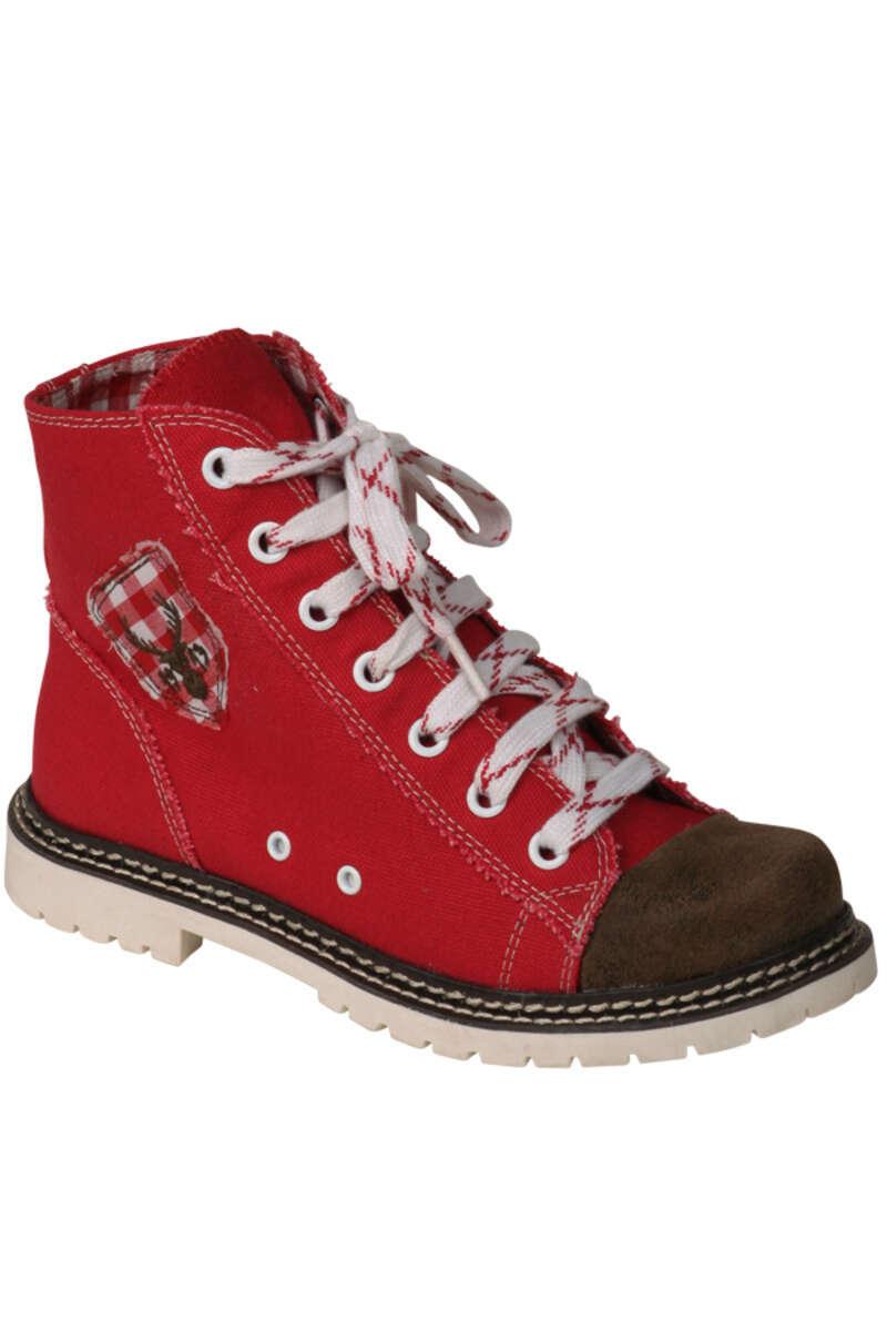 41895308f01b Sneaker Jacky rot braun rustikal - Geschenke - Trachten Werner ...