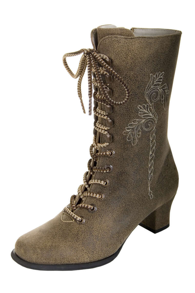 Stiefel hellbraun antik 'Bettina'