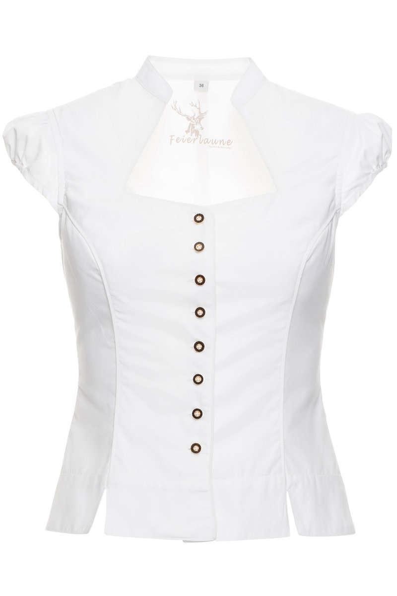 trachten mieder bluse mit fl gel rmel wei damen trachten werner leichtl ohg. Black Bedroom Furniture Sets. Home Design Ideas