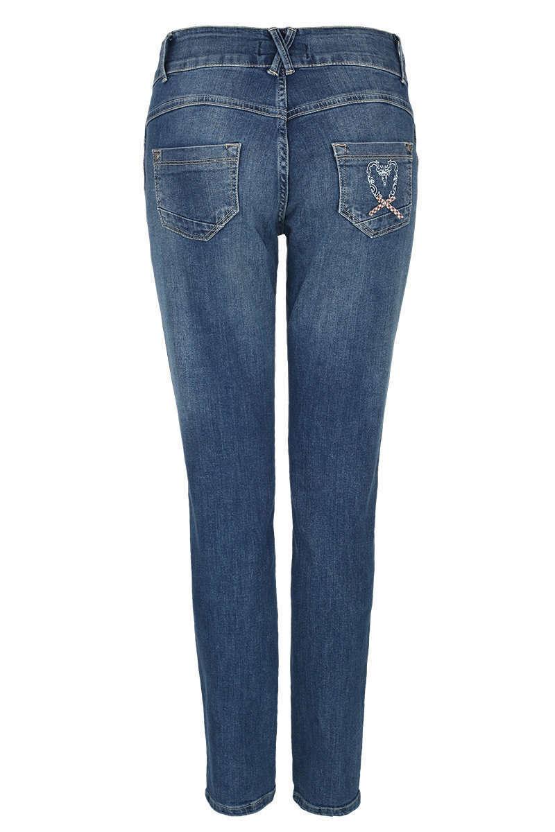 Damen Jeans lang Lederhosenlook - Damen - Trachten Werner-Leichtl OHG 98d1fb72dd