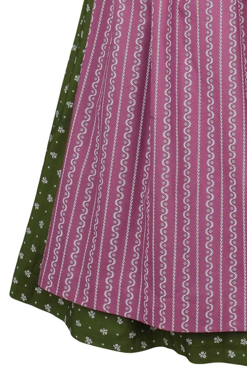 baumwolldirndl midi gr n lila damen trachten werner leichtl ohg. Black Bedroom Furniture Sets. Home Design Ideas