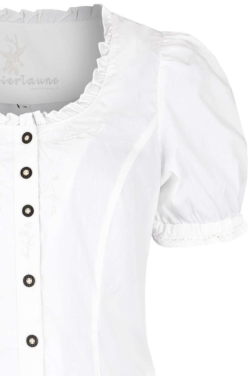trachtenbluse mit stickerei wei wei e blusen trachtenblusen trachtenshirts damen trachten. Black Bedroom Furniture Sets. Home Design Ideas