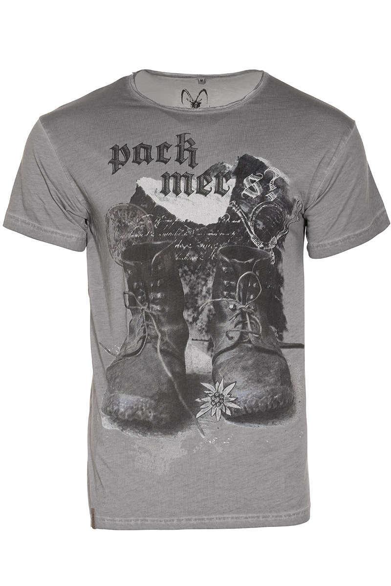 Mer's T Pack Trachtenshirts Polos Herren Shirt Grau qtd8ffw