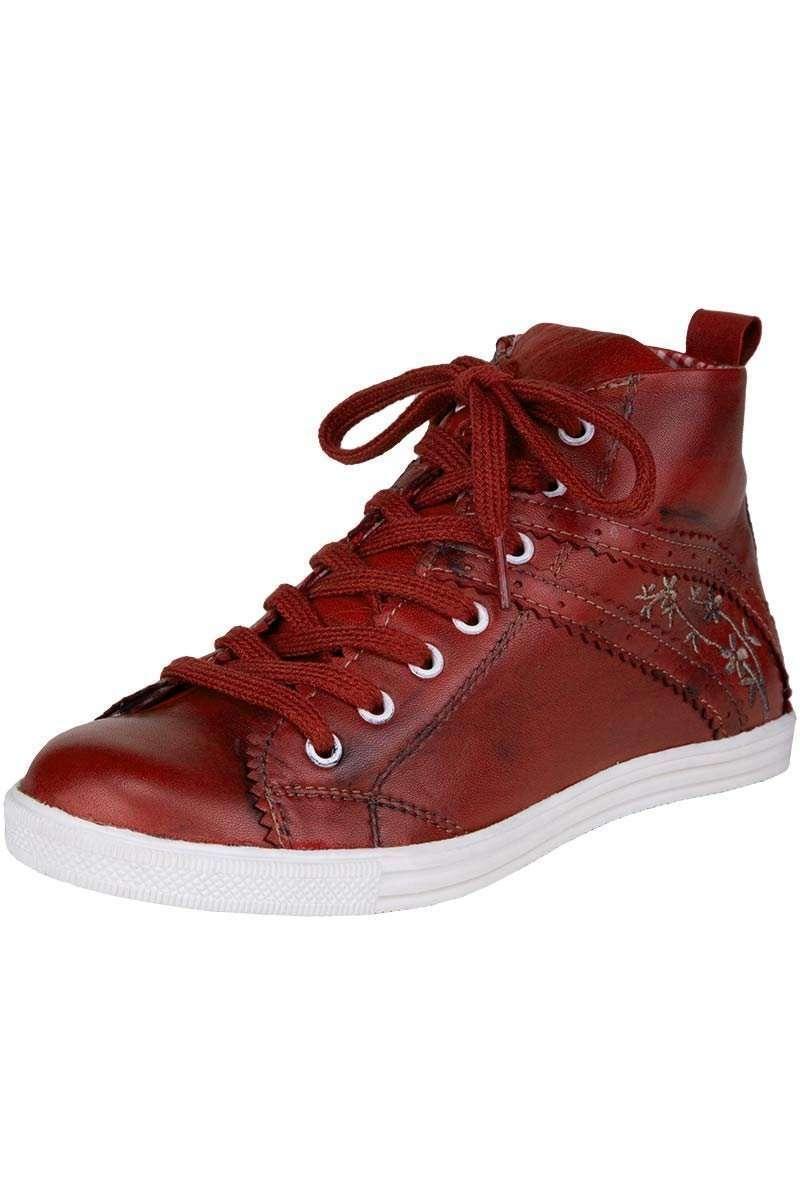 damen sneaker rot schuhe accessoires damen trachten werner leichtl ohg. Black Bedroom Furniture Sets. Home Design Ideas