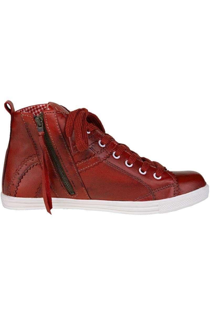 damen sneaker rot accessoires damen trachten werner leichtl ohg. Black Bedroom Furniture Sets. Home Design Ideas