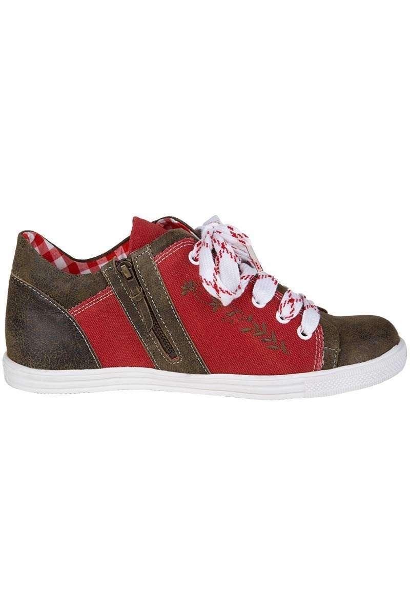 73dc309cade7 Damen Sneaker rot-braun - Damen - Trachten Werner-Leichtl OHG