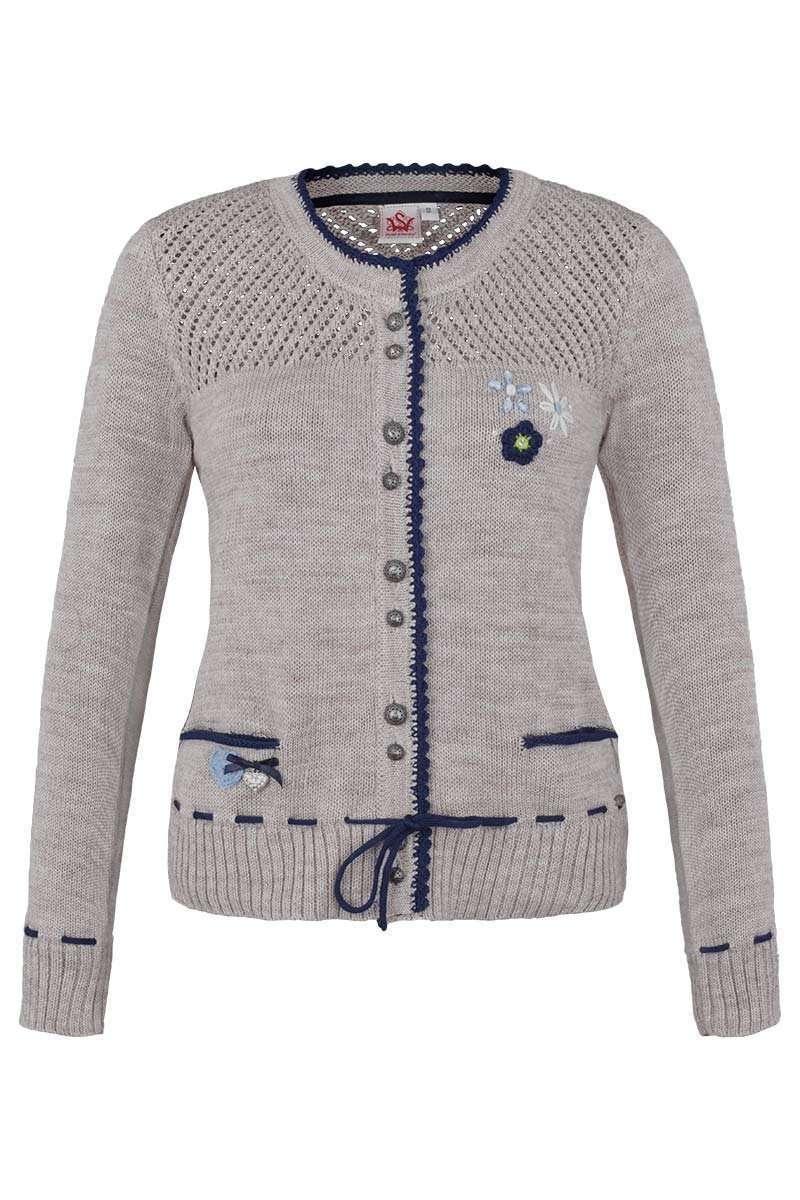 Country-Line Damen Damen Jeans Lederhosenoptik 3  4, Blau, 34 10100 ... 16533e86ea