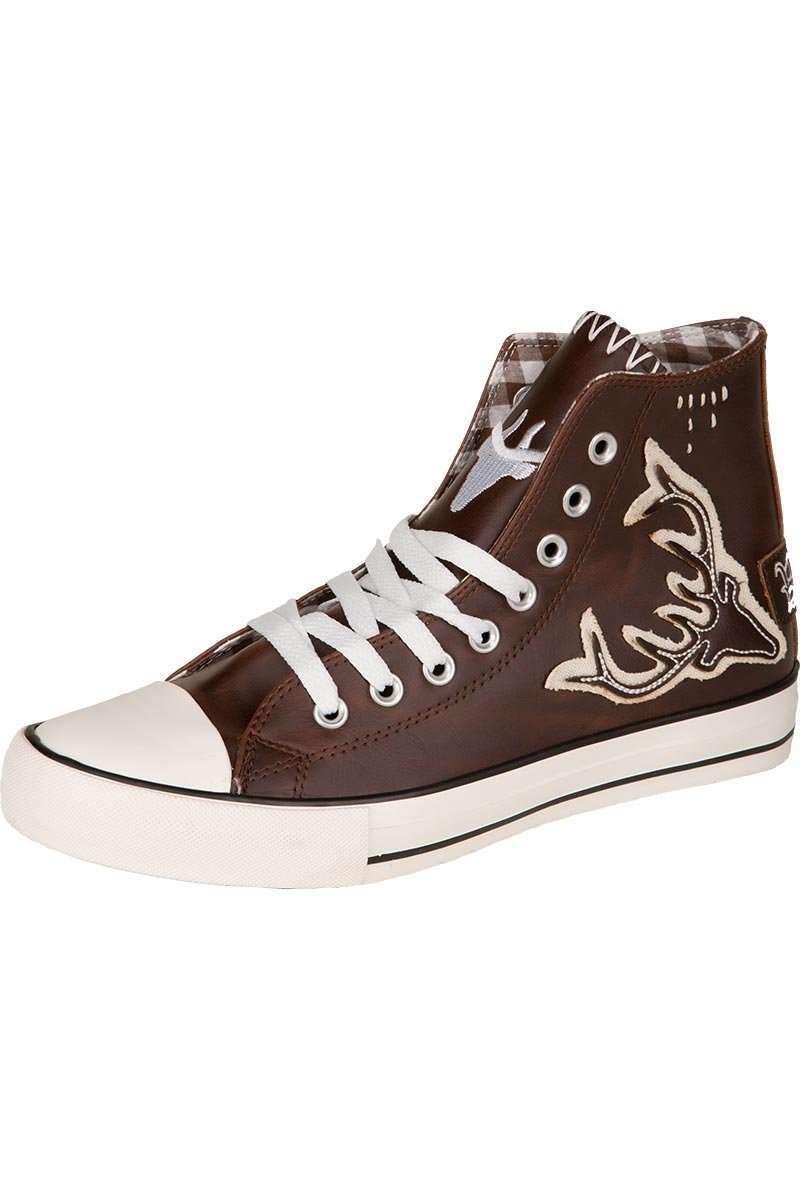 MarJo Trachten Herren Trachten Schuhe Sneaker Norbert in