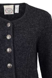 Damen Walk-Jacke anthrazit