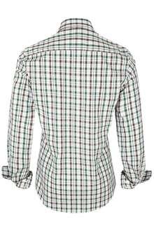 hemd slim fit kariert braun tanne trachtenhemden slim fit trachtenhemden trachtenshirts. Black Bedroom Furniture Sets. Home Design Ideas